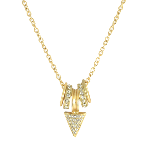 CRYSTAL,CHARM,AND,ARROW,NECKLACE