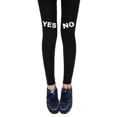 YES,NO,LEGGINGS