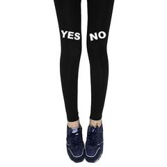 YES,NO,LEGGINGS
