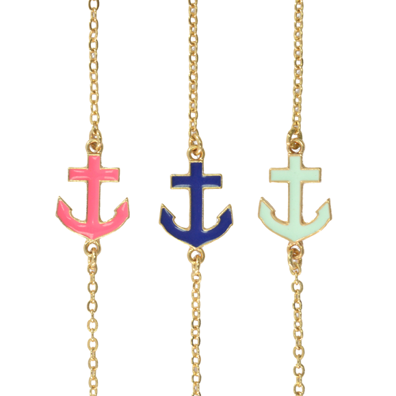 ANCHOR CHARM BRACELET - product image