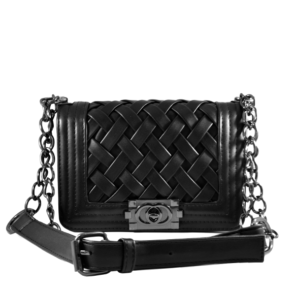 CLASSIC WEAVED BODY CROSS BAG - product image