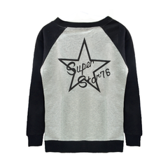 SUPER,STAR,RAGLAN,SLEEVE,JUMPER
