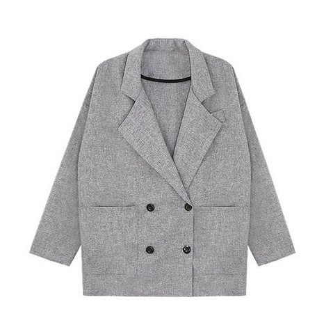 GREY,LARGE,COLLAR,COAT