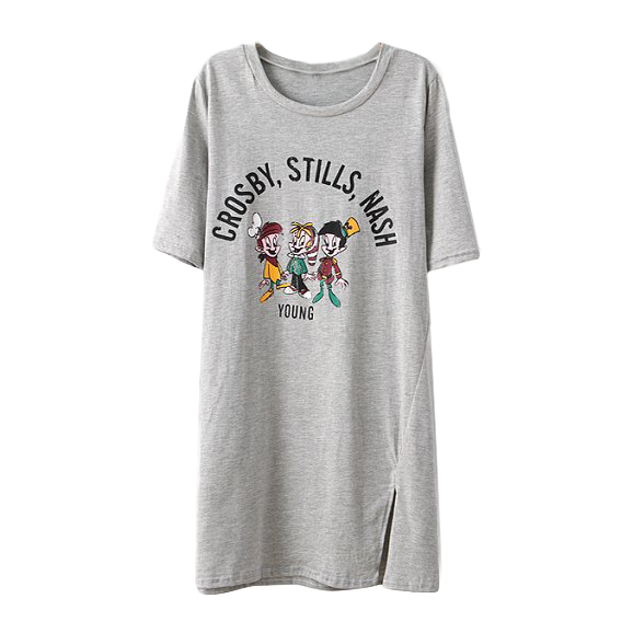 CARTOON TEE DRESS - product image