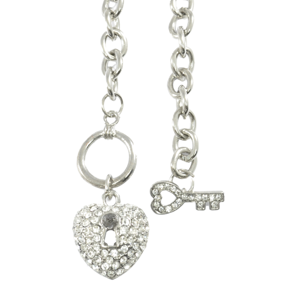 HEART LOCK NECKLACE - product image