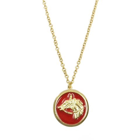 HORSE,PENDANT,NECKLACE