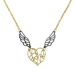 LOVE,WITH,WINGS,NECKLACE