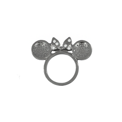 BOW,WITH,MOUSE,EAR,RING