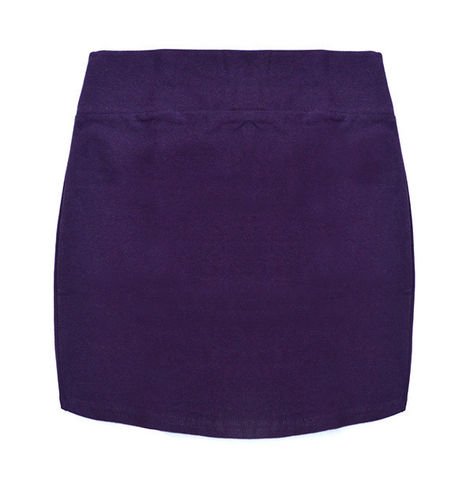 MINIMAL,SKIRT,PURPLE