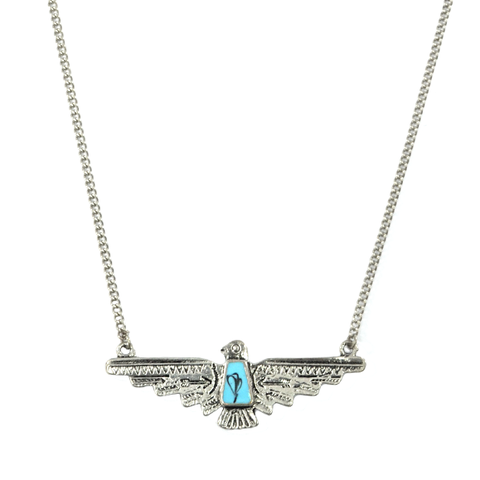 VINTAGE,WINGSPAN,BIRD,NECKLACE