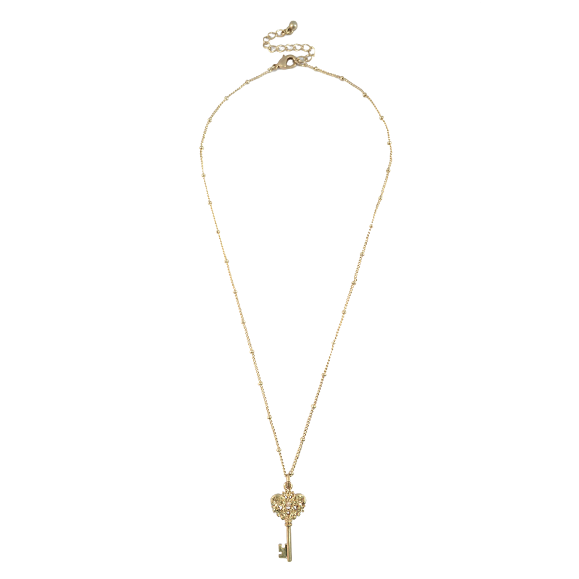 MINI KEY CHARM NECKLACE - product image