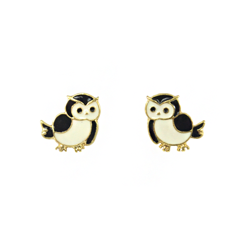 CUTE,OWL,EARRINGS
