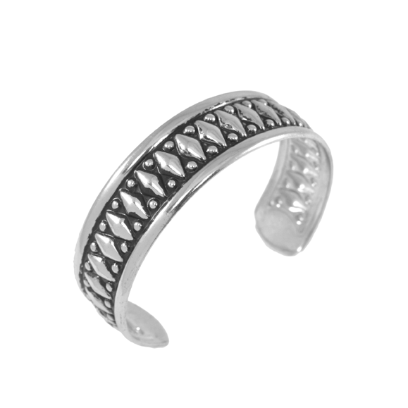 TRIBAL STYLE OPEN EDGE BANGLE - product image