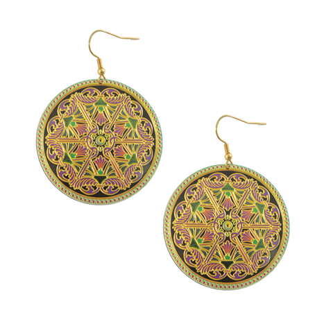 PATTERN,COPPER,SHEET,EARRINGS
