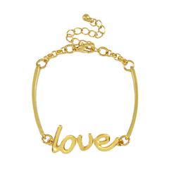 GOLD,LOVE,BRACELET