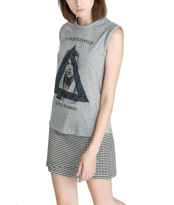 TRIANGLE PATTERN VEST - product image