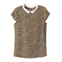LEOPARD,TOP,leopard t shirt, leopard tee