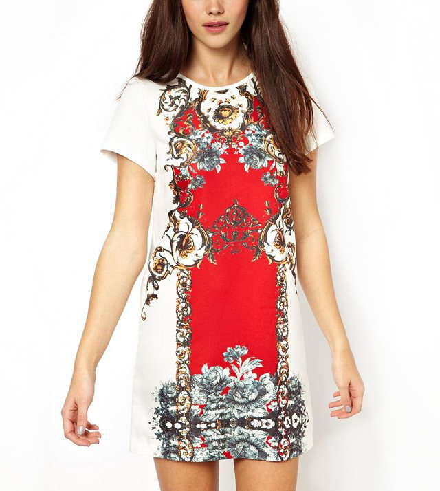 CLETIC PATTERN DRESS - product image