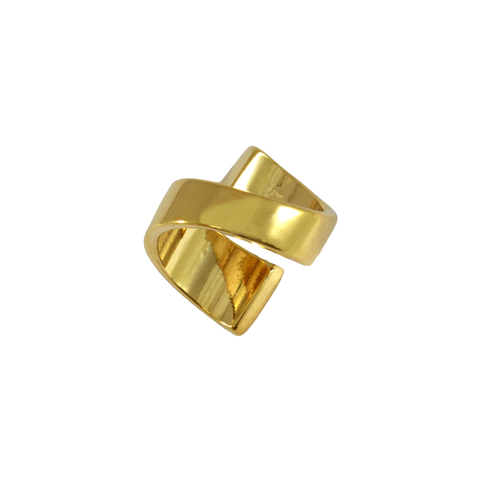 TWIST,RING,gold ring