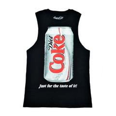 COKE,VEST,coke tee, black tee, unisex vest
