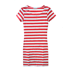 STRIPE,DRESS,summer dress, red dress