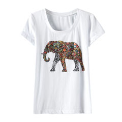 ELEPHANT,TEE,elephant t- shirt,elephant t, summer tee