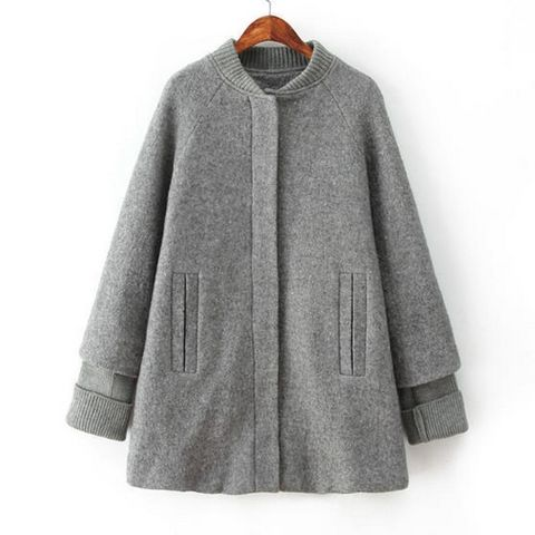 SPLICE,SLEEVE,KNIT,COLLAR,CAPE