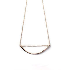 ARC-SHAPED,NECKLACE