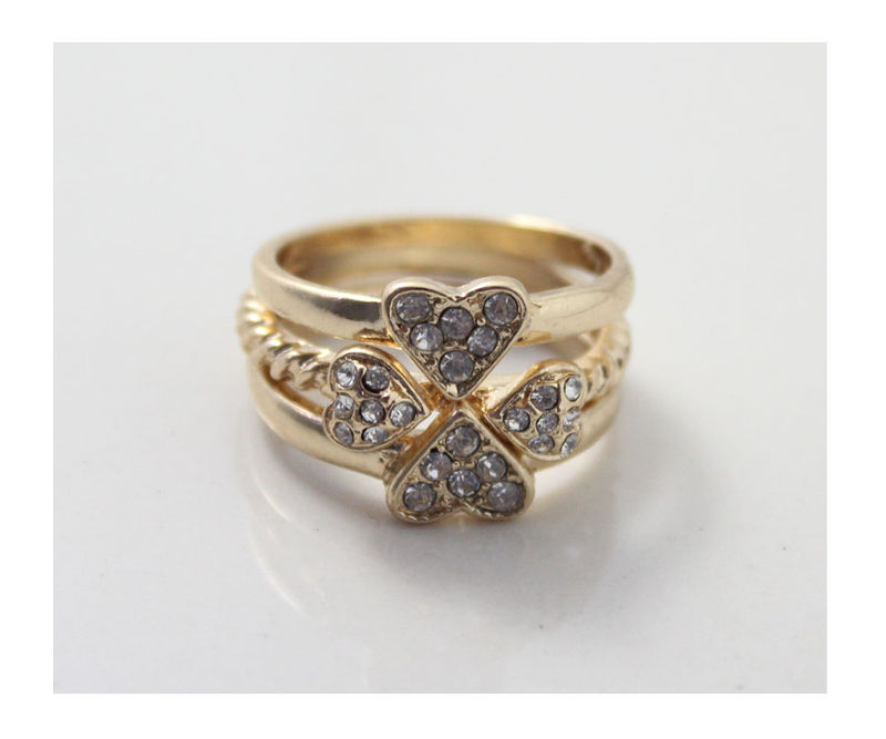 CLOVER RING SET - product image