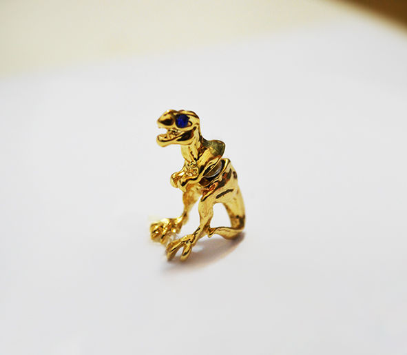 T-REX DOUBLE ENDED EARRING - product image