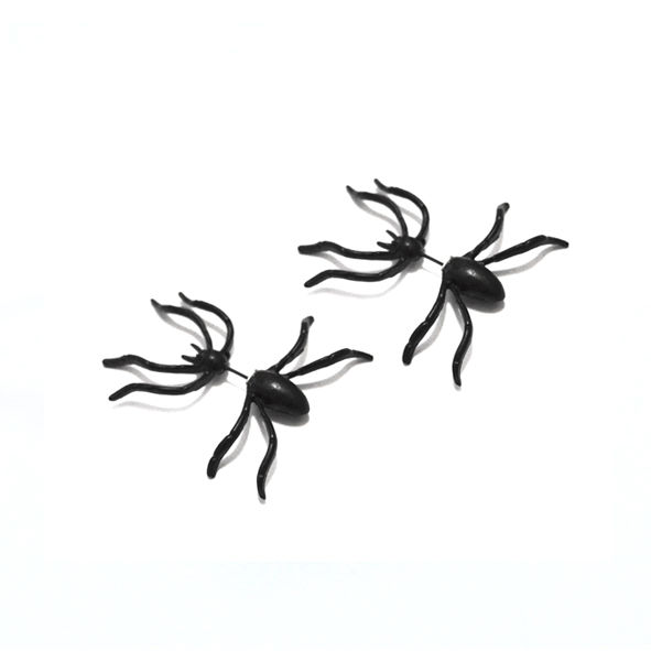 3D PUNK INSPIRED SPIDER EARRING - product image