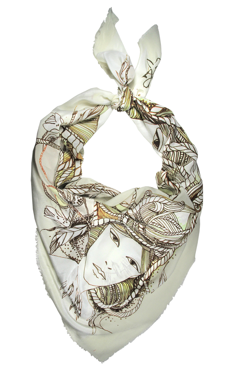 SWAN-MAIDEN SCARF - product images  of