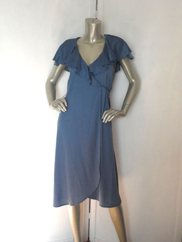 70s,Ruffle,Dress,/,Vintage,Powder,Blue,NOS,ruffle,Clothing,70s_ruffle_dress,Vintage_ruffle_dress,powder_blue_dress,wrap_around_dress,wrap_dress,vintage_blue_dress,70s_blue_dress,hippie_dress,romantic_dress,bohemian_dress,medium,Summer,Prairie_dress,Rayon,polyester