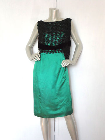 60s,Dress,/,Green,Cocktail,Vintage,Sheath,Satin,and,Velvet,Black,Lace,Clothing,60s_dress,60s_cocktail_dress,60s_sheath_dress,vintage_green_dress,60s_green_dress,lace_dress,velvet_dress,green_party_dress,vintage_sheath_dress,bust_38_dress,cocktail_dress,vintage_satin_dress,vintage_lace_dress,satin,lace,velvet