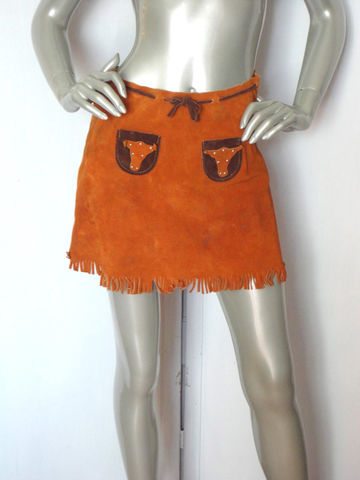60s,Skirt,/,Vintage,Cowgirl,Mini,Suede,Clothing,60s_skirt,miniskirt,hippie_skirt,vintage_skirt,orange_skirt,suede_skirt,go_go_skirt,brown_skirt,short_skirt,cowgirl_skirt,cowgirl,leather_skirt,costume_skirt,leather,metal