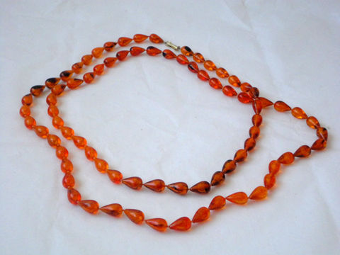 60s,Necklace,/,Orange,Crystal,Vintage,Jewelry,60s_necklace,60s_double_strand,single_strand,long_necklace,hippie,bohemian,mod,retro,50s,orange,crystal,citrine,casual,plastic,metal
