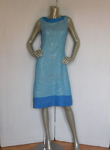 60s,Blue,Dress,Vintage,Sheath,Color,Block,Linen,Clothing,Women,60s_sheath_dress,sheath_dress,ladies_women,blue_60s_dress,vintage_blue_dress,mad_men_dress,blue_linen,large_blue_day_dress,lee_holliday,jackie_o_dress,secretary_blue_dress,blue_day_dress,color_block_dress,silk,acetate,rayon,zipper