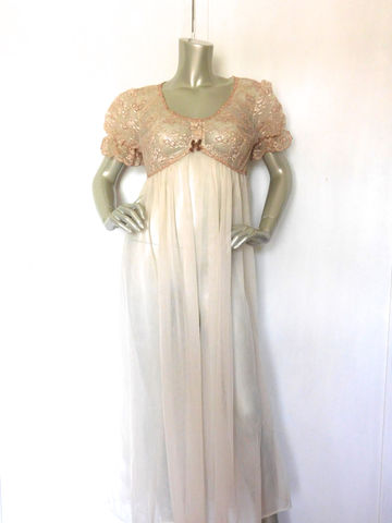 50s,Robe,Vintage,Val-,Mode,Lingerie,Gown,Beige,and,Brown,Sheer,Clothing,Women,val_mode,valmode,beige_and_brown,lace,hollywood_glam,regency,plymouth_new_york,34_bust,sexy,sheer,wedding,feminine,see_through_robe,nylon