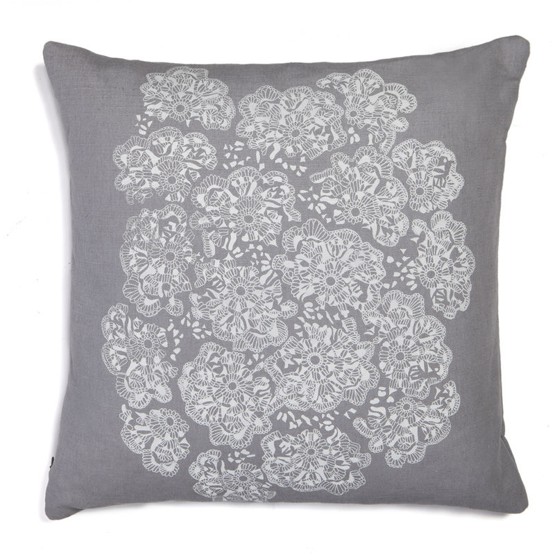 Crochet Lace Print Cushion - product images  of