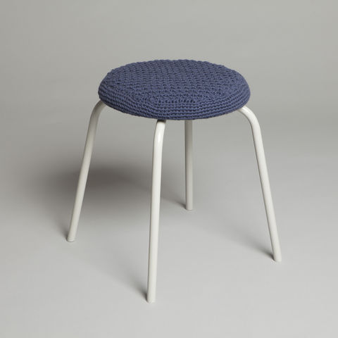 Trinity,Stool,trinity stool, stool, crochet, furniture