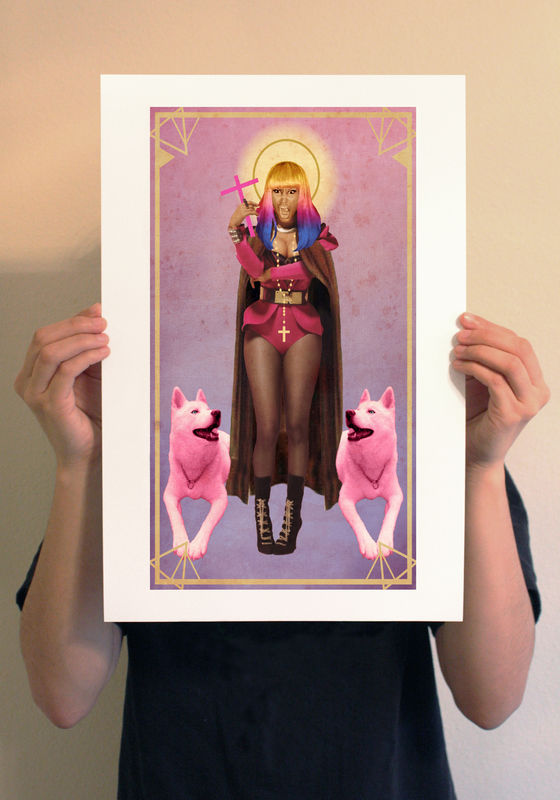 Saint Nicki Print - product images