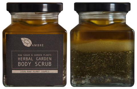 HERBAL,GARDEN,BODY,SCRUB,200ml