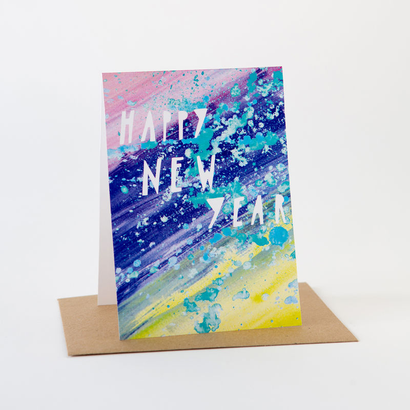 Paint Card- Happy New Year - product images