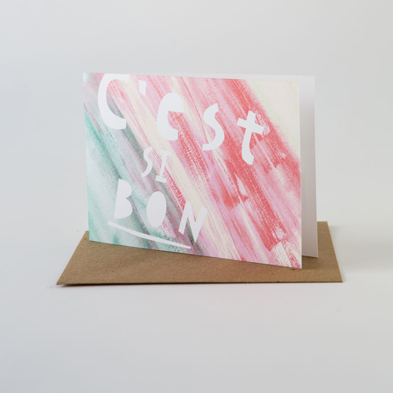 Paint Card- C'est Si Bon - product images