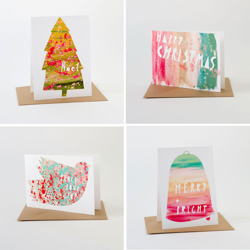 Holiday Paint Card Set - product images  of