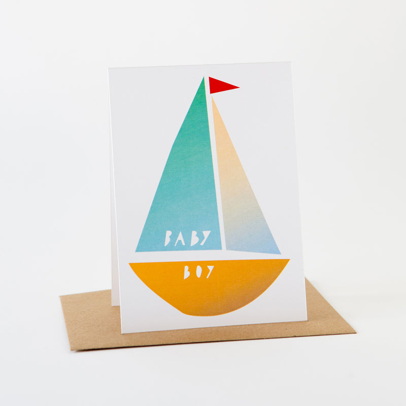 Papercut Card- Baby Boy - product images