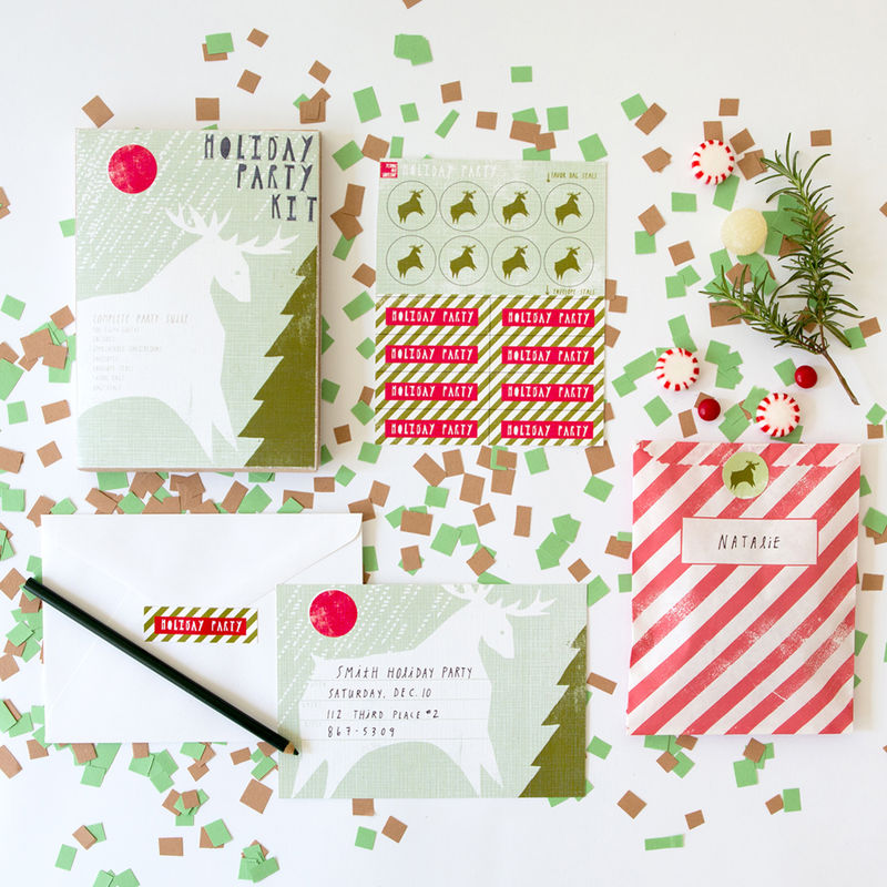 Reindeer Holiday Party Kit - product images  of