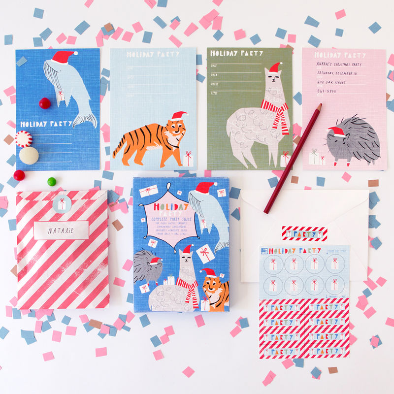 Animal Holiday Party Kit - product images  of