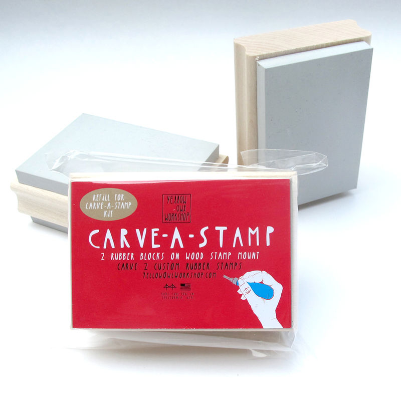 Carve-A-Stamp Kit Refill - product images  of
