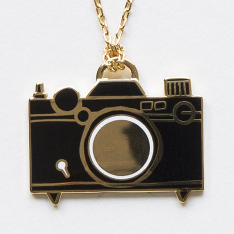 Camera,Pendant,pendant, necklace, cloisonne, camera